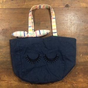 Cute girls denim tote! Great condition!